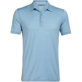 Icebreaker Tech Lite Polo manches courtes Homme, waterfall